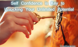 Self Confidence is Key to Releasing Your Unlimited Potential