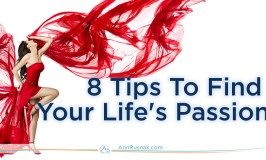 8 Tips To Find Your Life's Passion