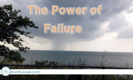 Overcoming Obstacles – The Power of Failure
