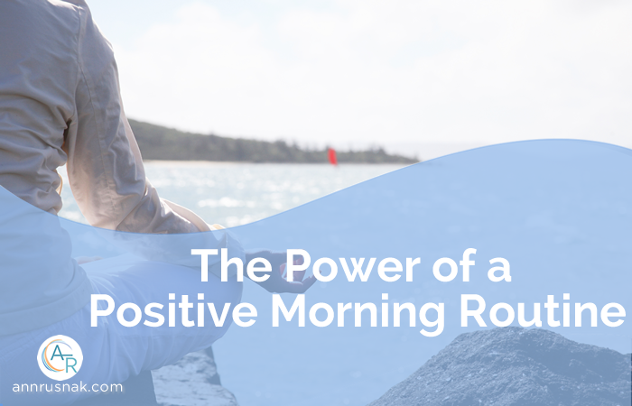 Power of a morning routine