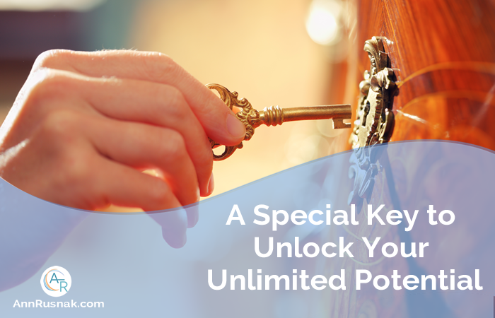 A Special Key to Unlock Your Unlimited Potential