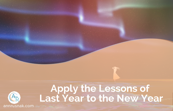 Apply the Lessons of Last Year to the New Year
